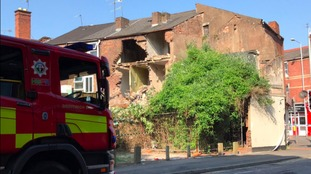 WATCH: Three storey derelict building collapses