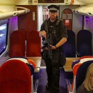 Armed officers will become a more familiar sight on the region's trains.