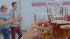 Cheers! The Cambridge Beer Festival is expected to draw 40,000 people.