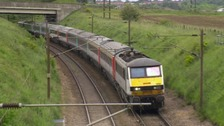Greater Anglia trains between Ipswich and Cambridge have been suspended.