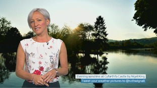 Wales Weather: Mild and muggy!