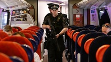 Armed police to begin patrolling on board trains