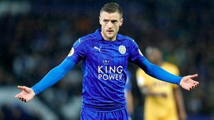 Jamie Vardy named in England squad for World Cup qualifier