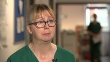 'She just kept smiling': Nurse's emotional encounter with victim