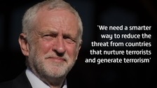 Corbyn to link foreign policy with terror after Manchester attack