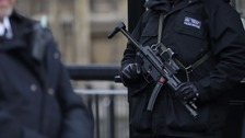 Three men charged with terror offences in London