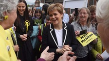 Sturgeon: Campaigners 'united in defence of our democracy'