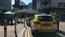 Man charged after hoax bomb scare in Swansea shopping centre