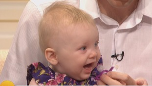 Mother who beat cancer tells of miracle of world's 'oldest' frozen egg baby