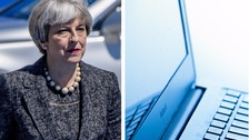 May calls for action against online extremism at G7 summit