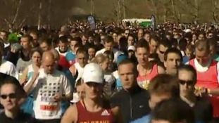 Sad end to half marathon