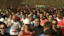 Reading Half marathon runners
