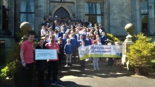 Cumbria students raise money for charity through sports