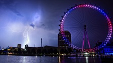 Torrential rain to follow London's mini-heatwave