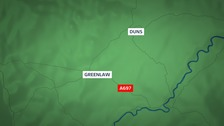 Biker seriously injured in Borders crash