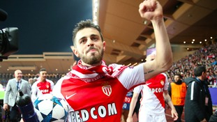Man City close on £60m signing of Monaco star Bernardo Silva