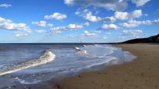 Sunny spells along the coast