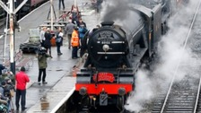 Safety warning as Flying Scotsman prepares for tour