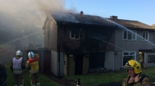 Community rallies to raise thousands of pounds for family whose home was destroyed by fire