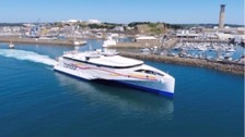 Jersey pull out of inter-island ferry service trial