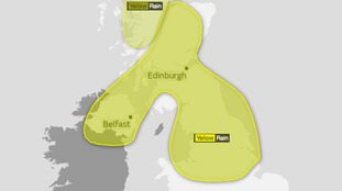 Weather Warning: Heavy showers