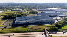 The i54 business park in Staffordshire.