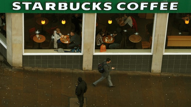 Starbucks Coffee in Nottingham