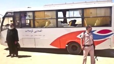 At least 28 Coptic Christians killed in Egypt bus attack