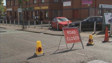 Man hospitalised after being hit by car in west Belfast
