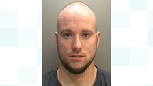 Jail for man who repeatedly stamped on woman's head