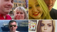 WATCH: Tributes for North East Manchester attack victims