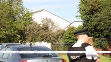 Portadown police cordon