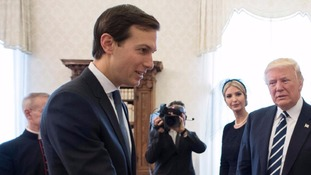 Jared Kushner is now the focus of investigations over Russia links.