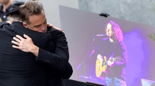 Music and film stars pay respects at Chris Cornell's funeral