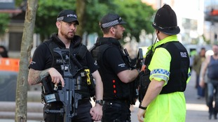 Armed police protect bank holiday events as further arrests made in Manchester attack probe