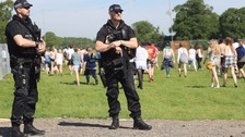 Tighter security as armed police protect Bank Holiday events