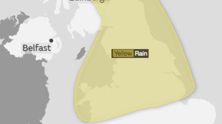 Saturday Weather Warning - Heavy, thundery downpours