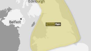 'Be Aware' Warning! - Risk of thundery downpours