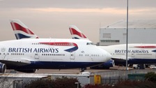 BA sorry after 'global system outage' causes passenger delays