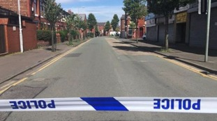 Greater Manchester Police said that an evacuation is underway and a search is being carried out at a property on Boscombe Street