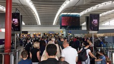 All BA flights cancelled at Heathrow and Gatwick