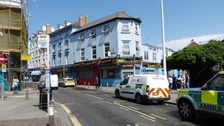 Baby falls from window in Folkestone