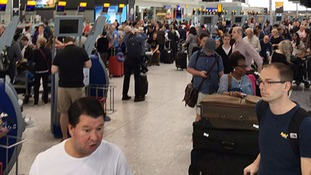 British Airways flights cancelled after 'global system outage'