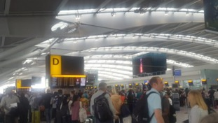 Severe delays at Heathrow and Gatwick