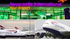 All British Airways flights to Newcastle from Heathrow Airport have been cancelled.