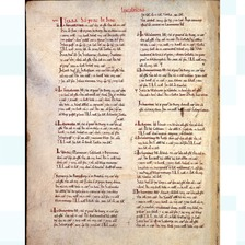 Doomsday Book on display at Lincoln Castle