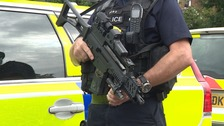 Armed police arrest teenager in city centre