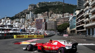 Kimi Raikkonen claims pole position in Monaco with Lewis Hamilton a lowly 13th