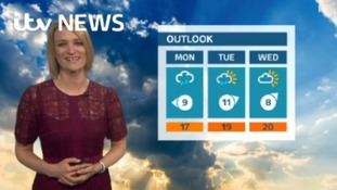 Weekend weather update with Kerrie