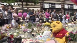 Thousands of people once again pay tribute to those killed in Monday's attack